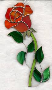 glass roses 102 best stained glass roses images on stained glass