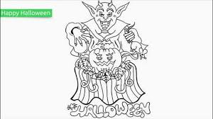 top 25 free printable halloween coloring pages youtube