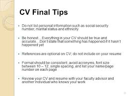 not to include in resume cvs and cover letters perrigan becky weir ppt