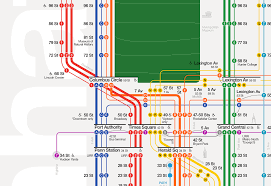 Manhattan Map Subway by The New York City Subway Map Redesigned U2013 Tommi Moilanen U2013 Medium
