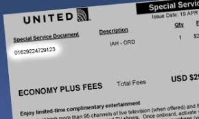 united airlines ticket change fee find your economy plus number
