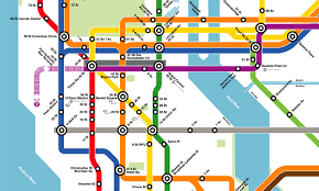 metro york map what if the nyc subway map looked like the dc metro s greater