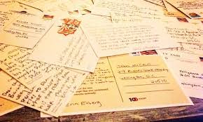 how to organize a postcard party to write to your representatives
