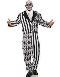 Lagoona Blue Halloween Costume Jester Mens Toned Clown Tuxedo Halloween Costume U2013 Costume Zoo