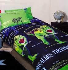 Dinosaur Double Duvet Scary Dinosaur Bedding Kids Bedding Dreams