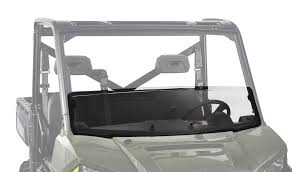 polaris ranger xp 900 half fixed windshield kolpin