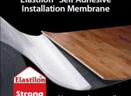 self adhesive underlayment elastilon lumber liquidators