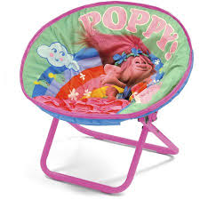 Baby Bath Chair Walmart Dreamworks Trolls Mini Saucer Chair Walmart Com
