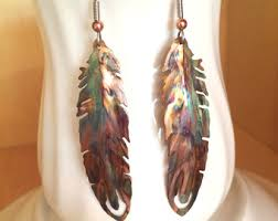 feather earrings feather earrings etsy