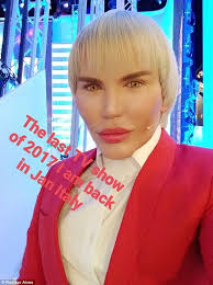 Seeking Kyle Doll Human Ken Doll Rodrigo Alves Gets Cosy With Pixee Fox Daily Mail