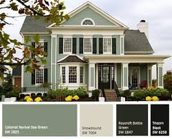 best combination of paint for body house and exterior home
