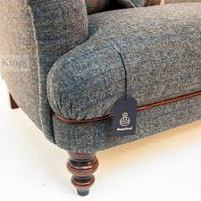 grey tweed sofa tetrad harris tweed braemar sofa in winter chexk and chianti hide