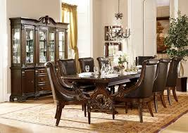 formal dining room sets dallas designer furniture orleans formal dining room set in cherry