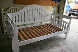 Wooden Daybed Frame Best Wood Daybed Frame Bed And Shower Convert Wood Daybed