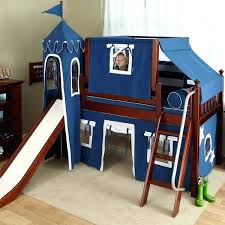 Bunk Bed With Slide And Tent Bunk Bed Slide Uk Loft With And Tent Home Design Ideas