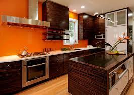 orange glass backsplash boldly colored backsplashes formed of
