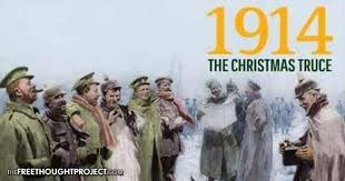 102 years ago today wwi soldiers called a christmas truce and