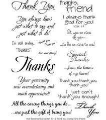 thank you card sayings phrases and messages messages shorts