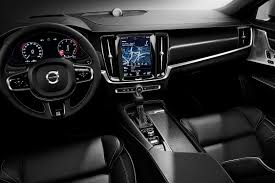 volvo station wagon interior first drive 2018 volvo v90 r design thedetroitbureau com