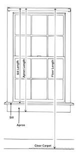 How To Measure For Grommet Curtains 28 How To Measure Curtains For Windows Measuring Windows