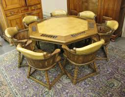 Poker Table Chairs With Casters by Poker Table And Chairs Hillsdale Kingston 5 Piece Game Table Set