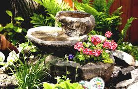 homemade garden fountain ideas home outdoor decoration