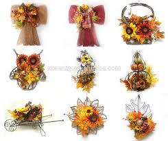 Decorative Flowers by Wood Hanging Flower Basket Christmas Decorative Flower Pot