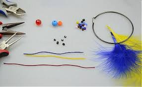 how to make feather earrings with earring how to make feather earrings with