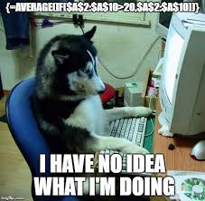 What Is A Meme Exle - excel is confusing imgflip