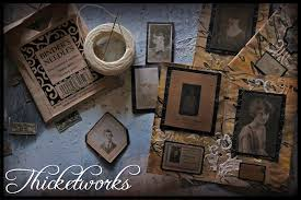 embossed photo album make a tiny vintage photo album honoring your roots