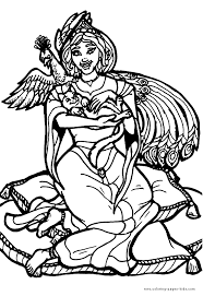 queens kings pincesses princes color coloring pages