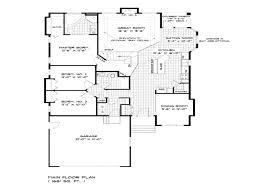 house plans single floor floor plan single storey bungalow christmas ideas best image