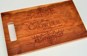 engravable cutting boards cutting board personalized cutting board laser engraved cherry