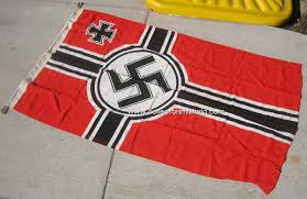 Battle Flag A Very Nice Wwii German Kriegs Battle Flag