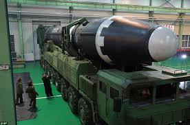 pictures of korea s new missile reveal its size daily