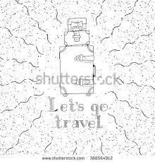 Kentucky travel handbags images Set inky hand drawn travel bags stock vector 389984077 shutterstock jpg