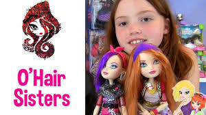 after high dolls names after high and poppy o hair dolls 2 pack review