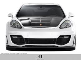 widebody porsche panamera extreme dimensions 2010 2013 porsche panamera af 1 wide body front