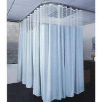 Cubicle Curtains With Mesh Medline Cubicle Curtain