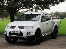 mitsubishi l200 used white mitsubishi l200 for sale glamorgan