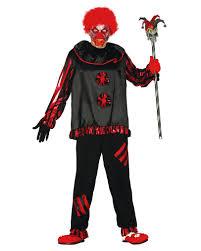 black zombie clown costume creepy clown disguise horror shop com
