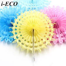 tissue paper flowers 5pcs 8 diy tissue paper flowers snowflake hollow paper fans