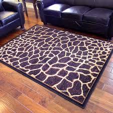 5 X 7 Area Rug Adventure Giraffe Skin Design Area Rug 5 X 7 5 X 7