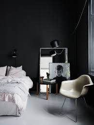 black and white bedrooms home design