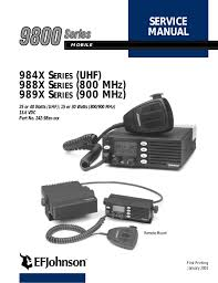 98xx series mobile service manual