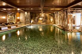cheval blanc courchevel indoor pool wanderlust pinterest