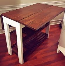 build kitchen island table diy drop leaf kitchen island cart bachelor on a budget