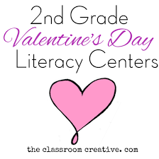 second grade literacy valentine u0027s day centers u0026 resources