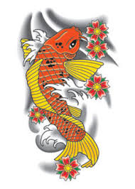 jessica lee koi fish tattoo designs