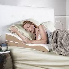 bed wedge pillow avana ogee memory foam bed wedge support foam pillow